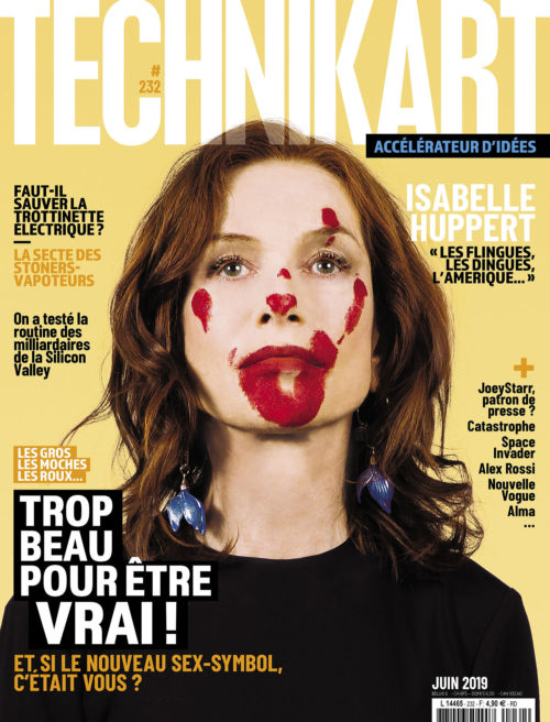 Couverture Technikart magazine