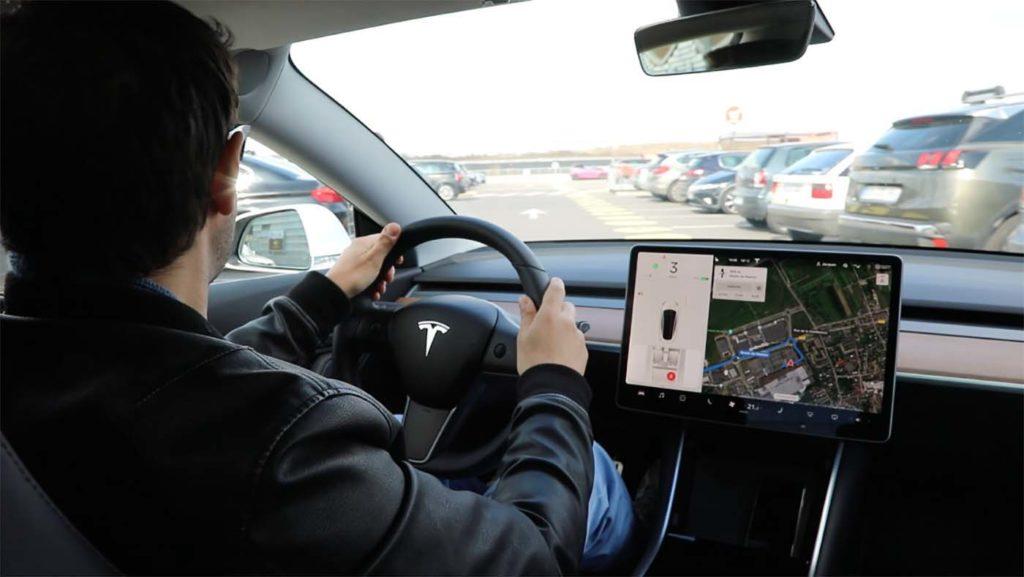 Tesla model 3 vitesse