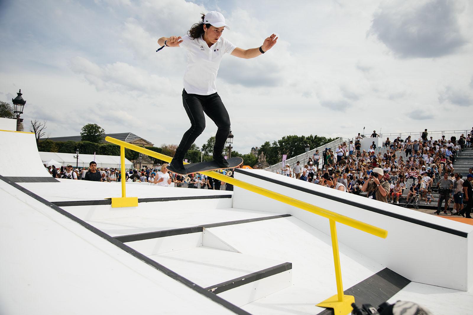 Skate JO Paris Technikart filles