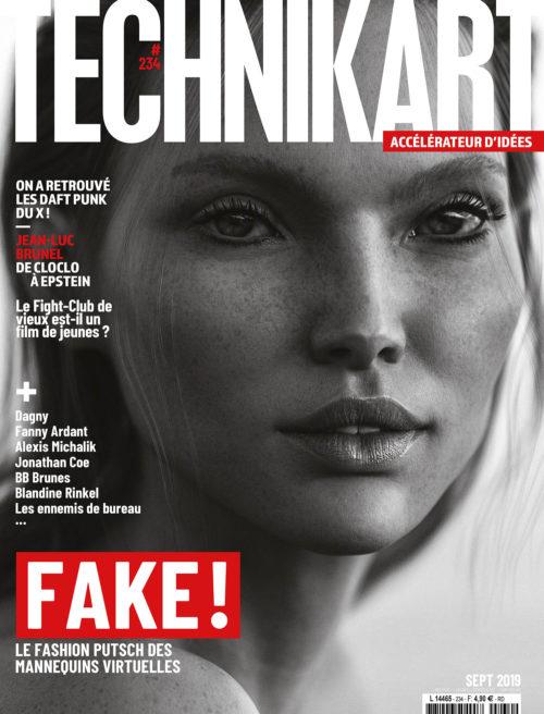 Technikart 234 septembre 2019 fake model