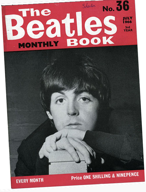 The Beatles Monthly Book