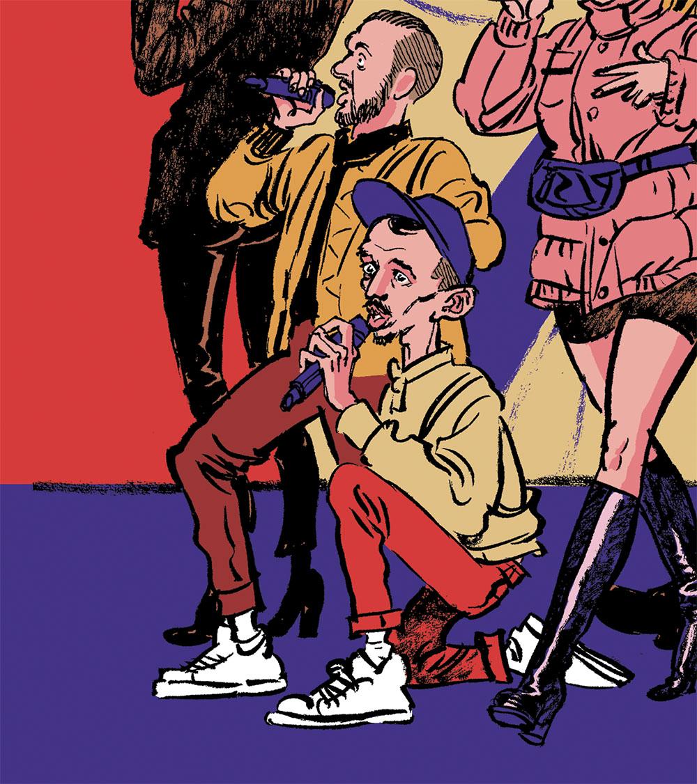 big flo & oli technikartr illustration