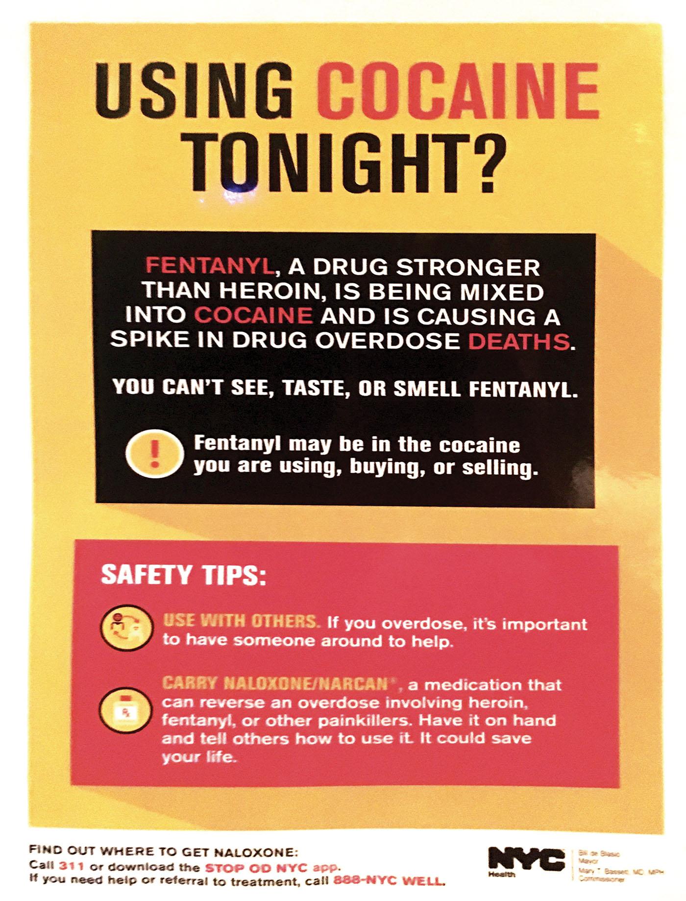 prévention coke usa
