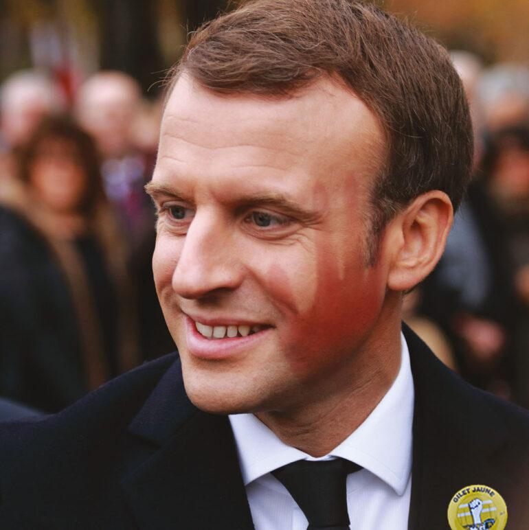 Emmanuel Macron Technikart